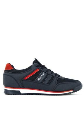 Slazenger ACTIVE Sneaker Erkek Ayakkabı Lacivert SA11LE010