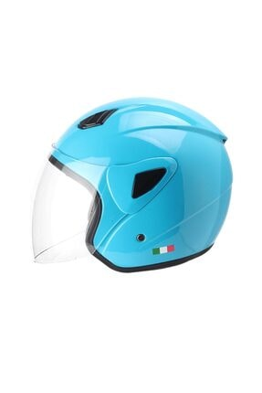 Sway Sw706 Açık Motosiklet Kask Yarım Mavi