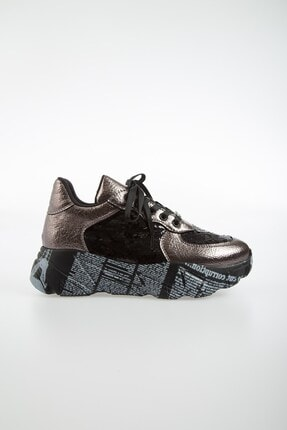 Pierre Cardin PC-30435 Platin Kadın Spor Ayakkabı