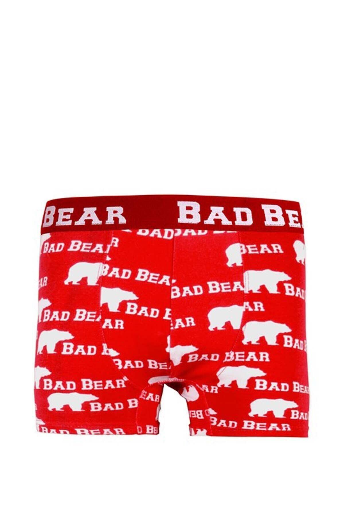 Bad Bear Erkek Boxer Baskılı 18.01.03.004 1
