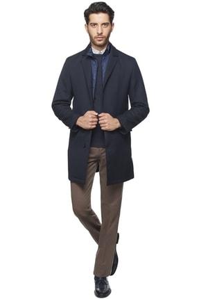 ALTINYILDIZ CLASSICS Erkek Lacivert Standart Fit Palto