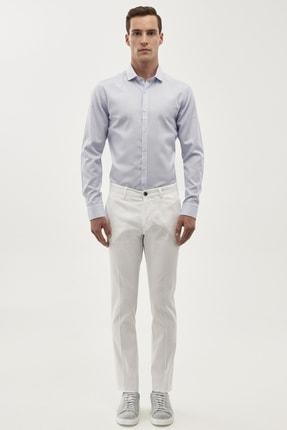 ALTINYILDIZ CLASSICS Erkek Beyaz Ekstra Slim Fit Pantolon