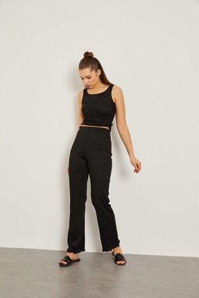 Arma Life Siyah Kaşkorse Bluz Ve Pantolon Takım