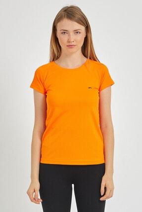 Slazenger Relax Kadın T-shirt Turuncu St11te050