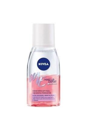 Nivea Make Up Expert Bakım Yapan Çift Fazlı Göz Makyaj Temizleyici 125 ml