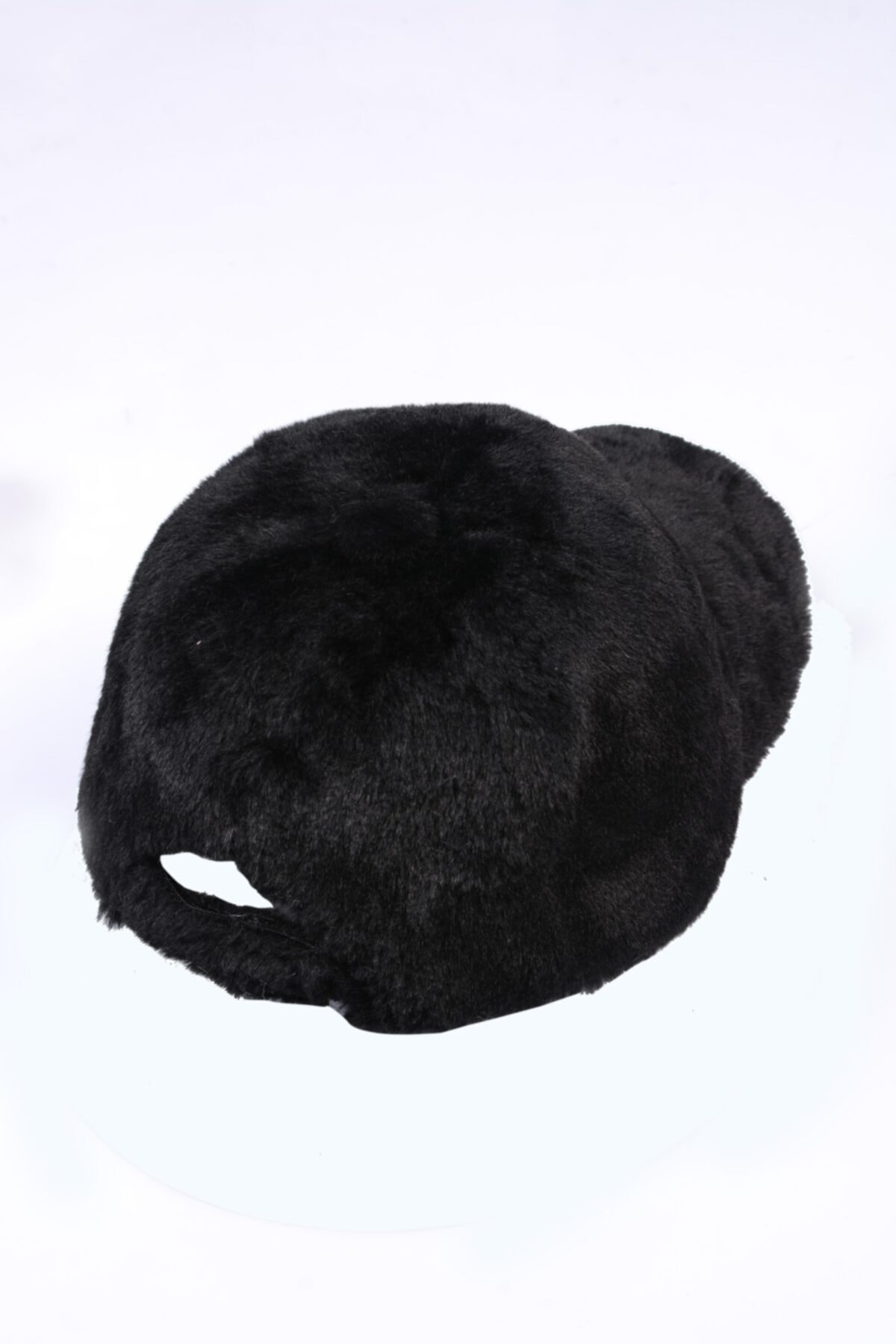Y-London 13590 Siyah Peluş Kep 2
