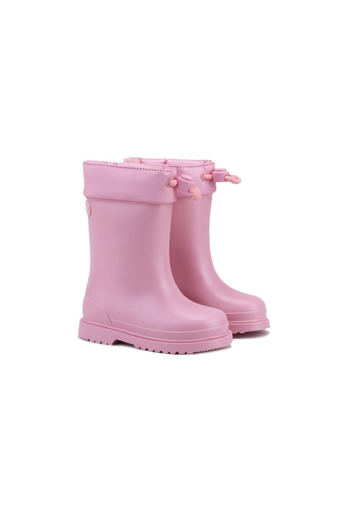 IGOR CHUFO CUELLO Pembe Unisex Çocuk Yağmur Çizmesi 100394496 2