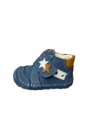 MOMYKİDS Momy Kids Lacivert Ilkadım Deri Ayakkabı 31504