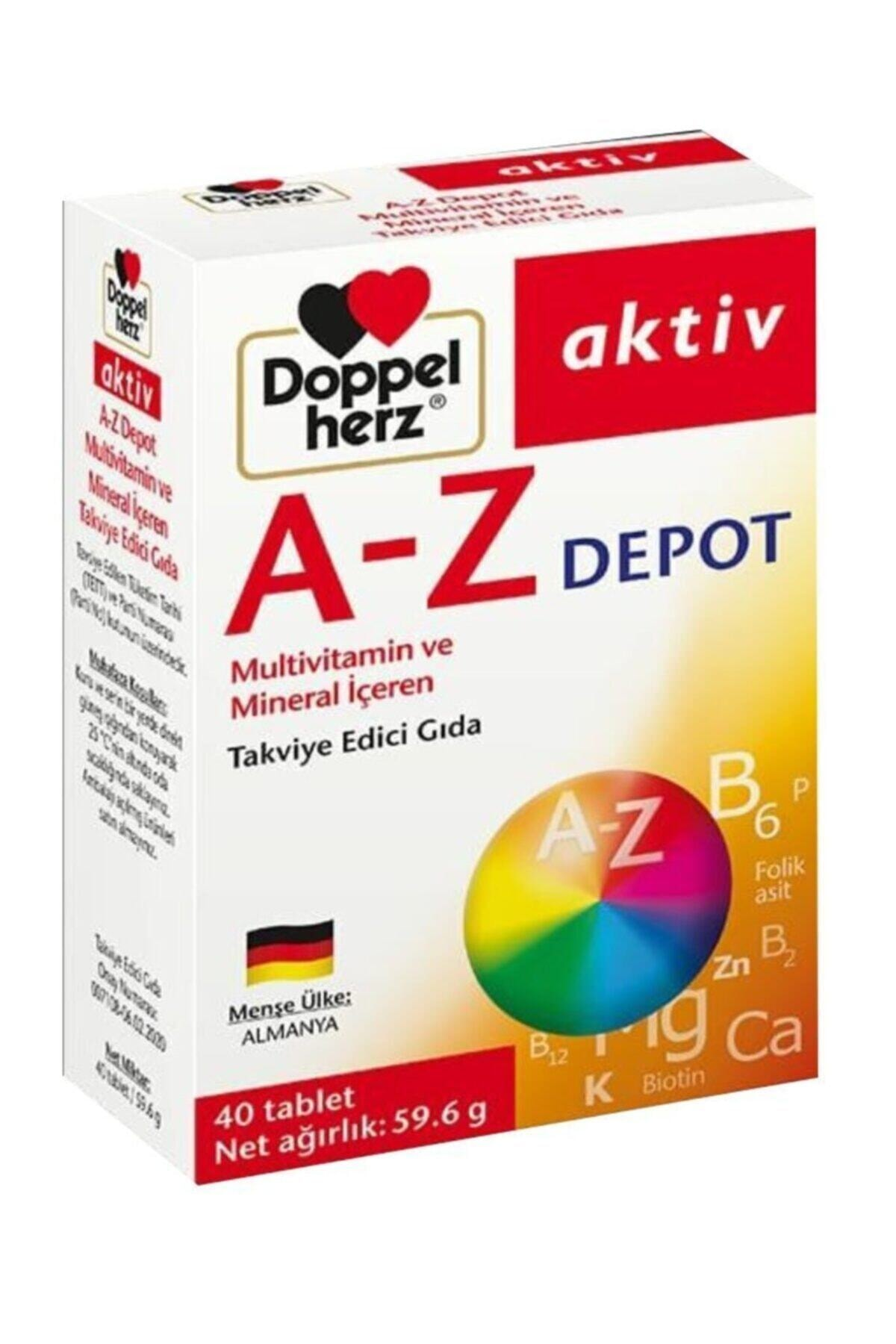 Doppelherz Aktiv A-z Depot Multivitamin 40 Tablet 1