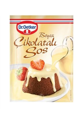 Dr. Oetker Dr Oetker Beyaz Çikolatalı Sos 80 Gr