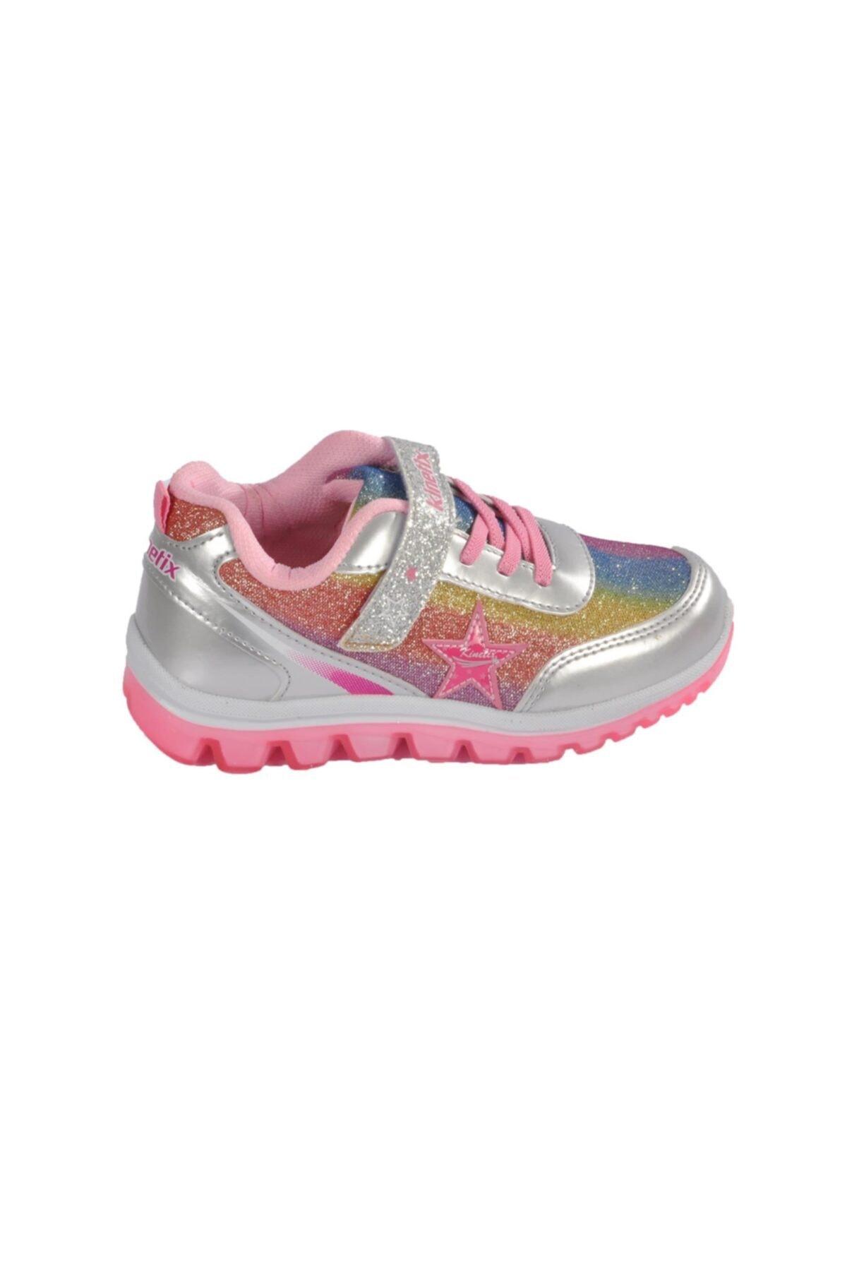 Kinetix SIMA 9PR Gümüş Kız Çocuk Yürüyüş Ayakkabısı 100427305 2
