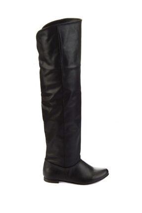 Fox Shoes Siyah Kadın Çizme 8248025909