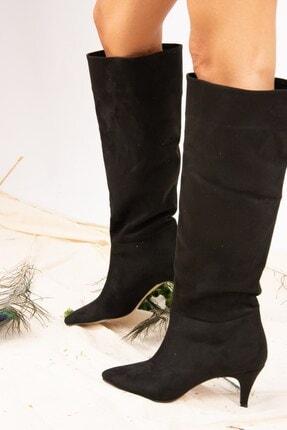 Fox Shoes Siyah Kadın Çizme J749205302