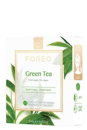 FOREO UFO™ Green Tea Arındırıcı 6'lı Aktif Maske 7350092139328