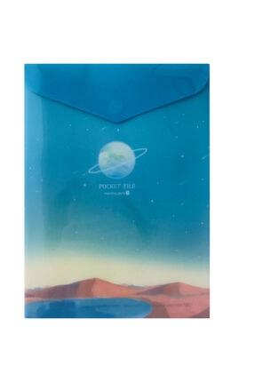 Morning Glory Tasarım Zarf Dosyası Dar/planet 2 51721-81407