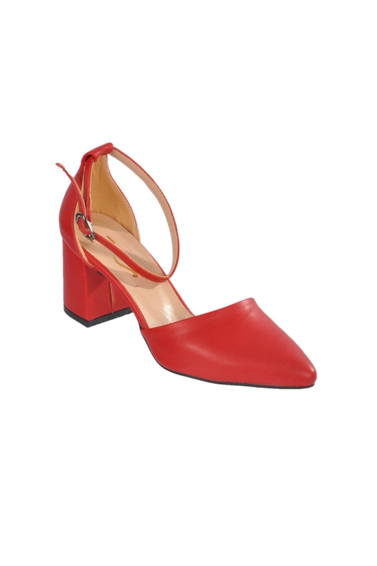 Maje 1903 Kırmızı Kadın Topuklu Ayakkabı 1