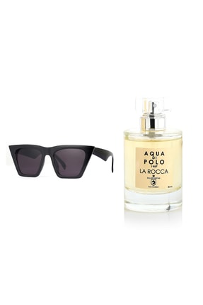 Aqua Di Polo 1987 2'li Fırsat Paketi Güneş Gözlüğü + La Rocca Edp 50 ml Kadın Parfüm Stcc002901