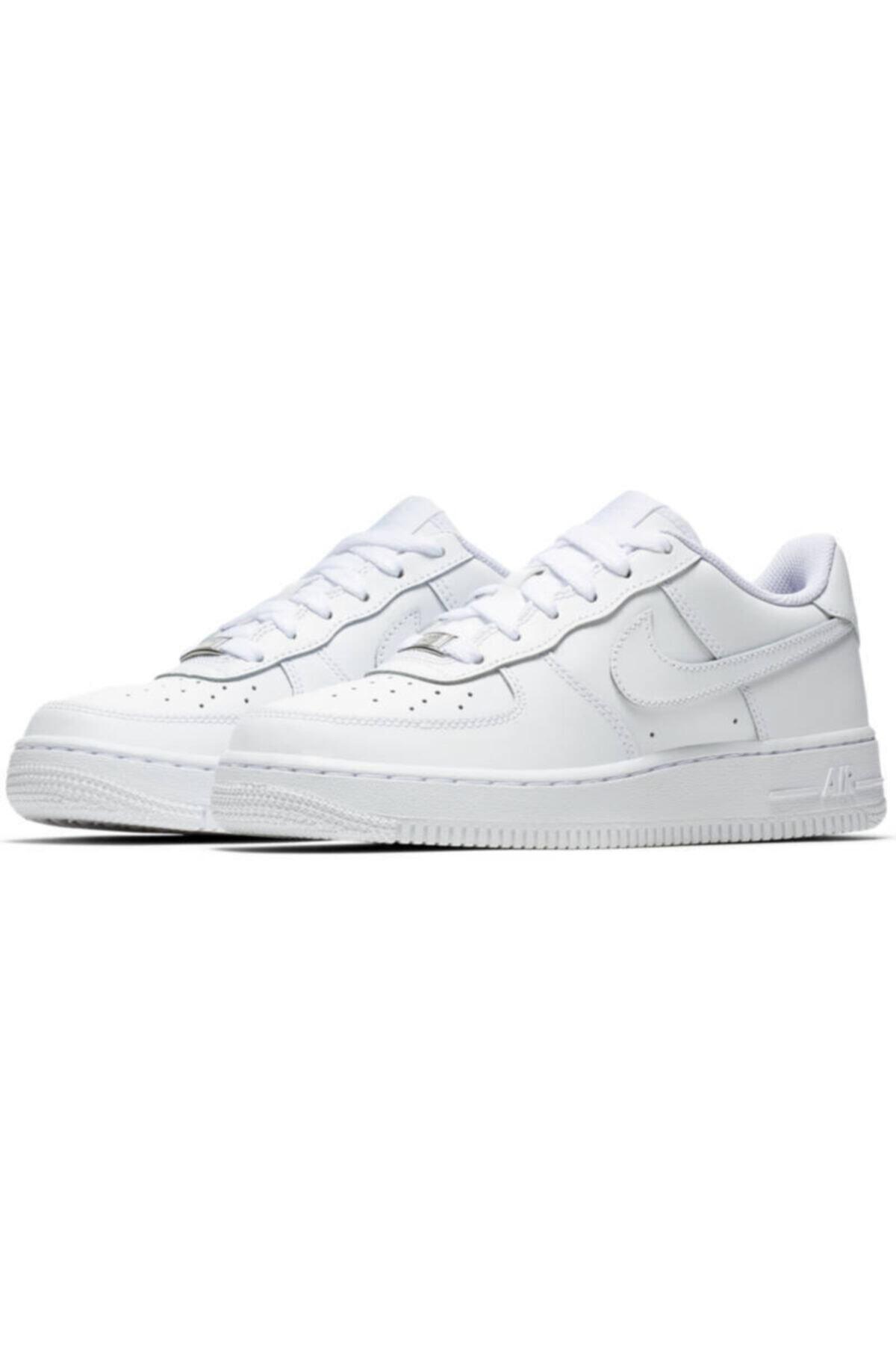 Nike Nıke Aır Force 1 (gs) Beyaz Kadın Spor Ayakkabı 314192-117 1