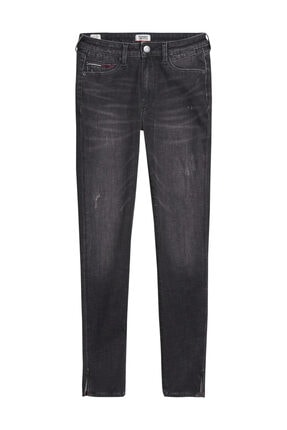 Tommy Hilfiger Kadın Denim Jeans Sylvıa Hr Spr Skny Ank Slıt Dybw DW0DW08624