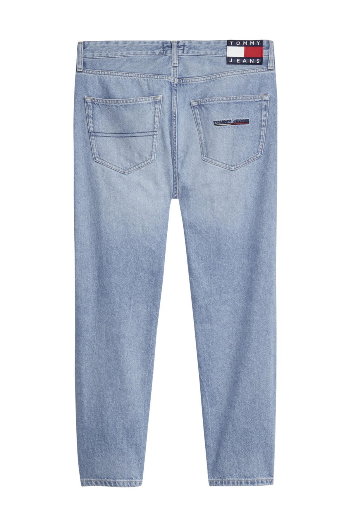 Tommy Hilfiger Erkek Denim Jeans Dad Jean Strght Svlb DM0DM08270 2