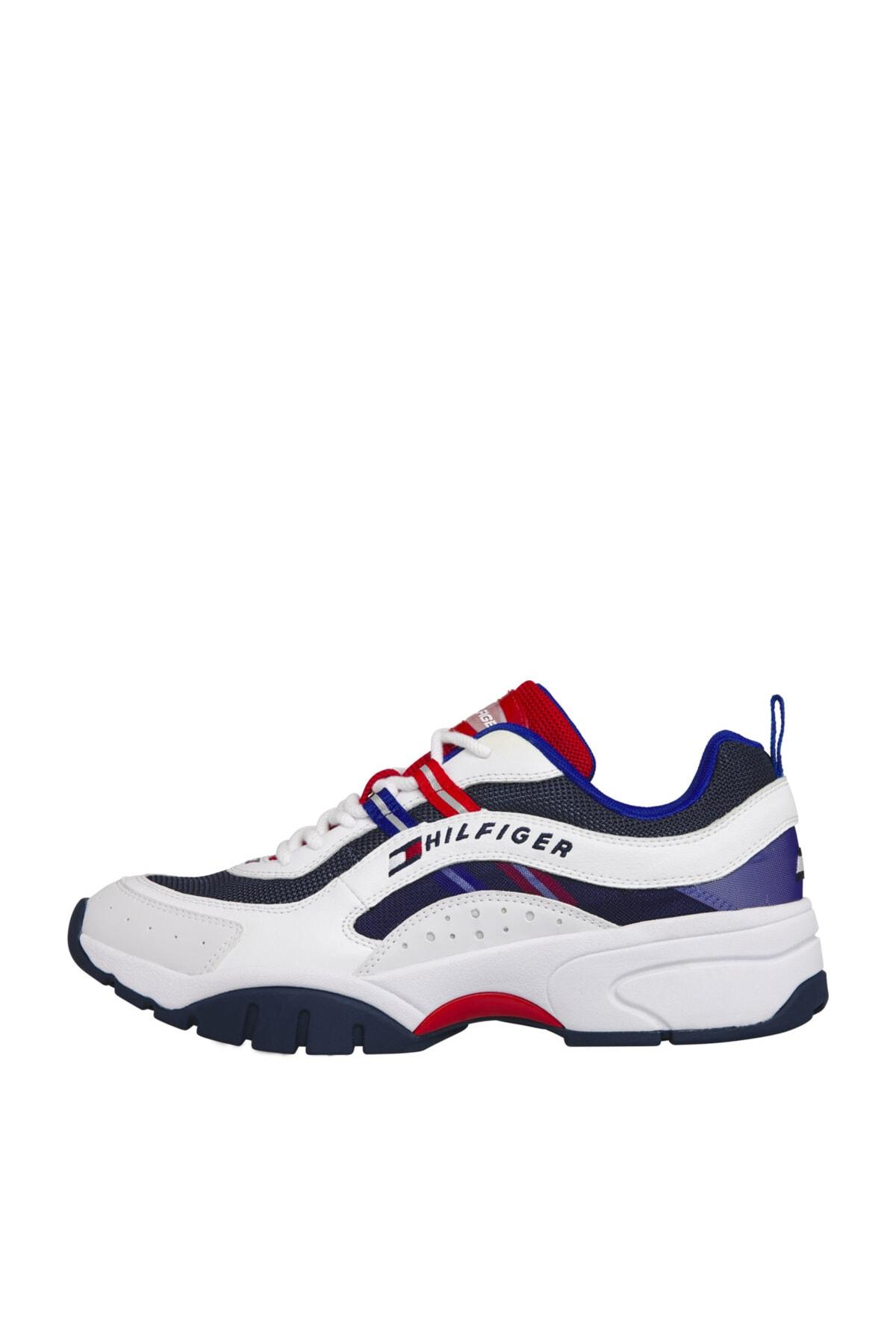 Tommy Hilfiger Erkek Tj Heritage Runner Sneaker 1