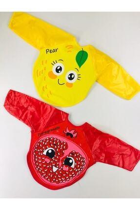 Kids Buude 2 Adet Armut-nar Kollu Mama Önlüğü