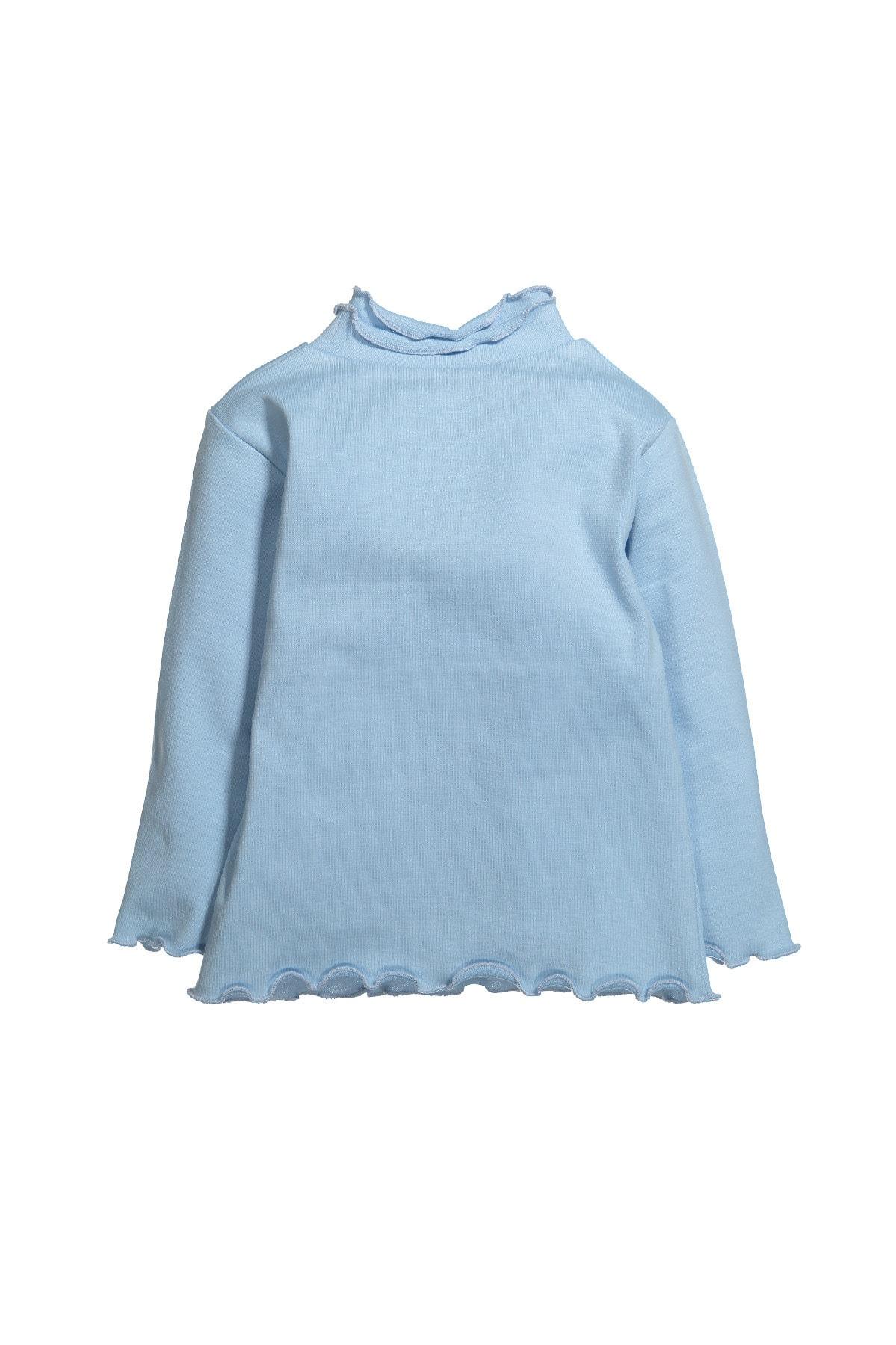 Zeyland Balıkçı Yaka Fırfırlı Uzun Kollu T-shirt (6ay-12yaş) 2