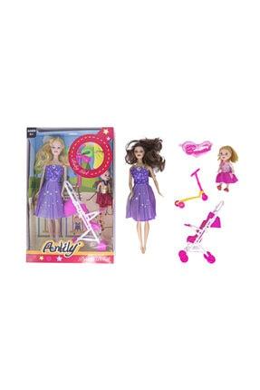 Fatih Oyuncak Barbie Bebek Scooter Bebek Arabası