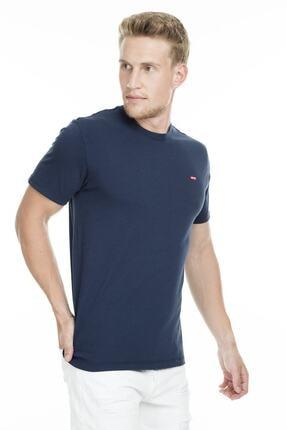 Levi's Erkek Mavi T-shirt