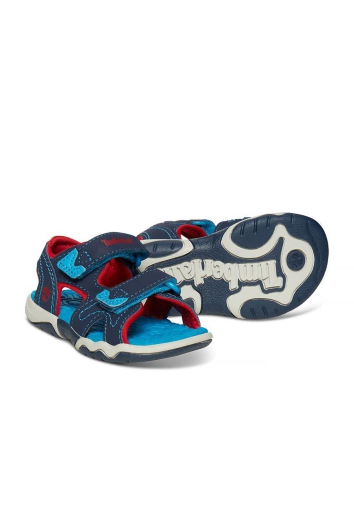 Timberland Unisex Çocuk Lacivert Adventure Seeker 2 Strap Sandalet 1-5 Yaş 1