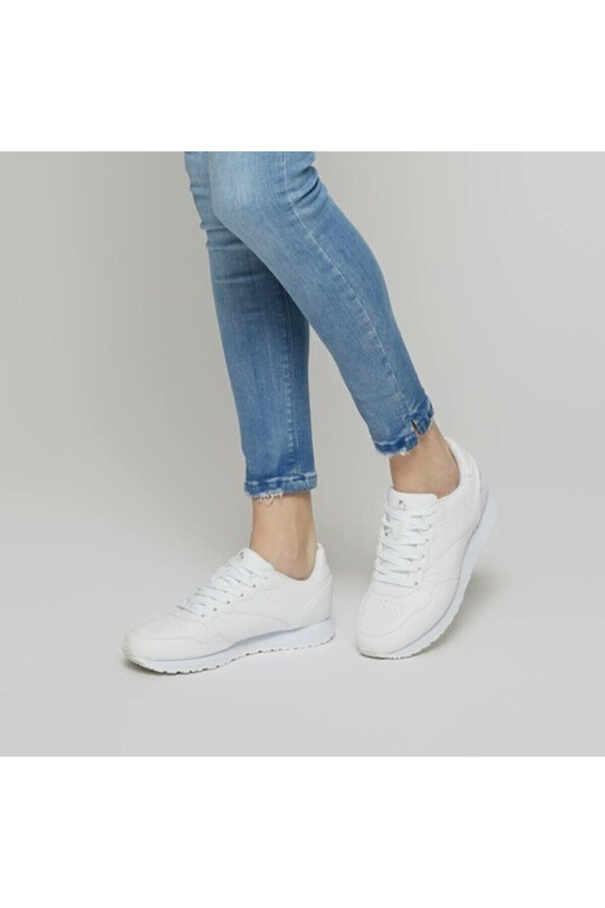 lumberjack HELLO WMN Beyaz Kadın Sneaker 100298984 1