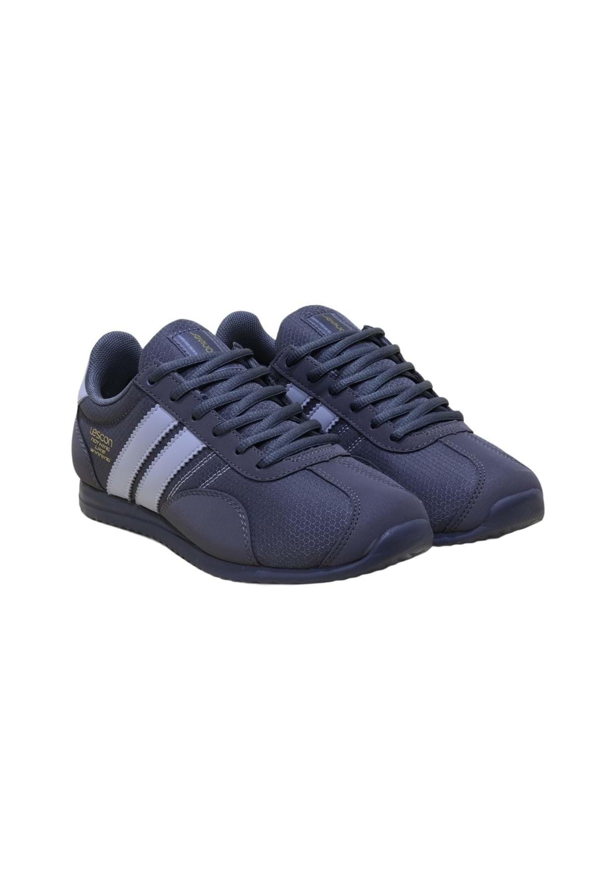 Lescon Gri  Ortopedic Sneakers Ayakkabı 2