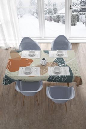 Hediyeler Kapında 130x170 Soft Minimal Desenli Masa Örtüsü