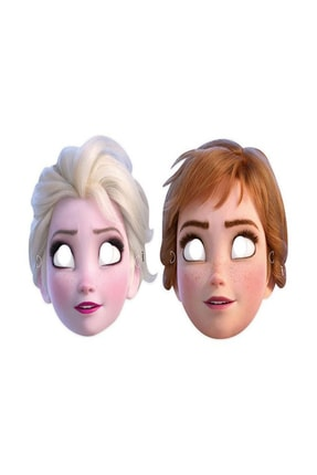 Parti dolabı 6 Adet Elsa Anna Parti Maskesi, Frozen Doğum Günü Konsepti Gözlük