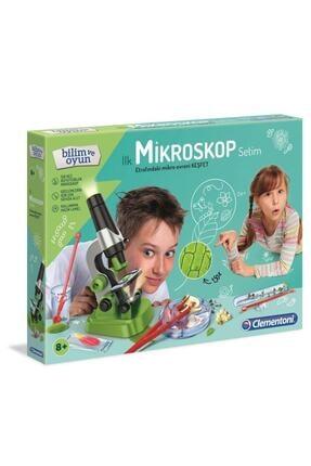 CLEMENTONI 64963 Ilk Mikroskop Setim -mini Set /ilkkeşiflerim +7 Yaş