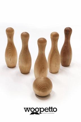 woopetto Ahşap Bowlıng Seti