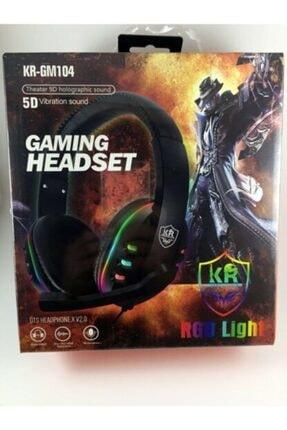 KR Rgb Light Gm104 Miofonlu Kulaküstü Oyun Kulaklığı -gm104