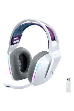 logitech G G733 Kablosuz 7.1 Surround Ses Oyuncu Kulaklığı - Beyaz