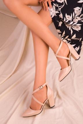 SOHO Ten Mat Kadın Klasik Topuklu Ayakkabı 14391