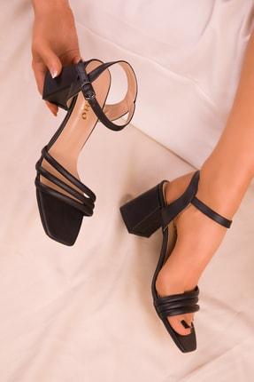 SOHO Siyah Kadın Klasik Topuklu Ayakkabı 15831