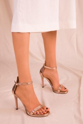 SOHO Roze Kadın Klasik Topuklu Ayakkabı 15795