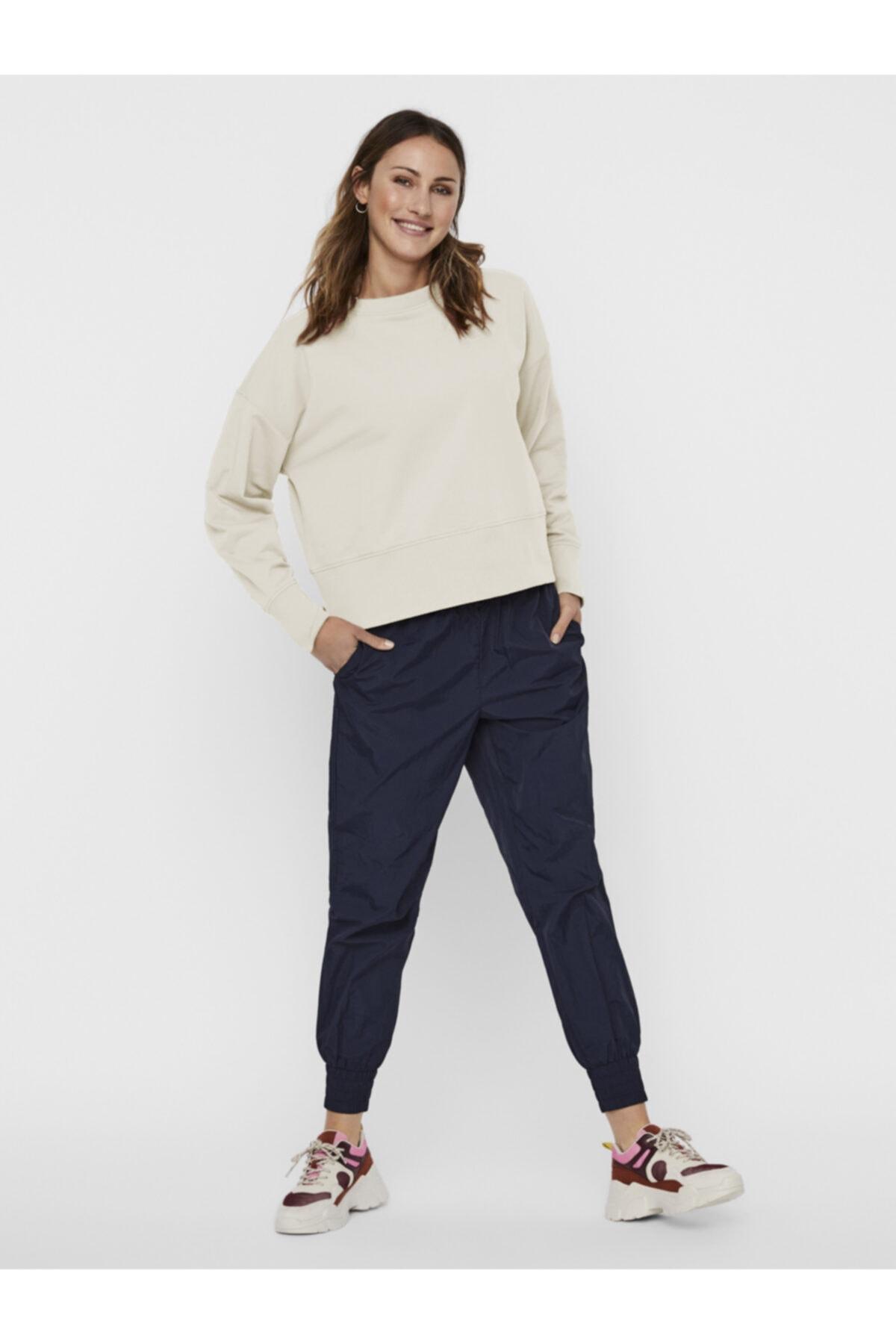Vero Moda Bol Kesim Sweatshirt 10241392 Vmlenka 1
