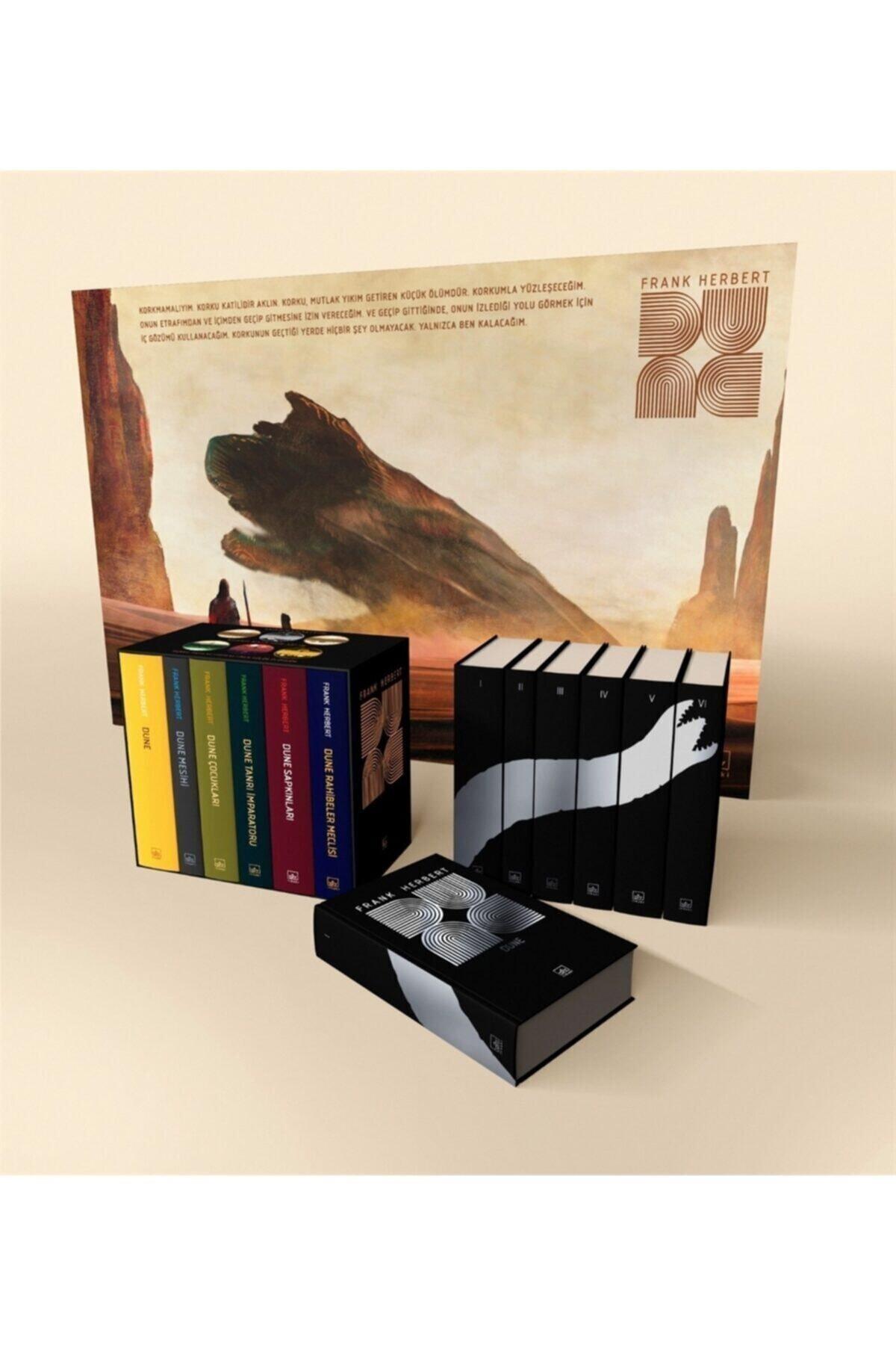 İthaki Yayınları Dune Ciltli Kutu Set (6 Kitap Takım) - Frank Herbert 9786257737630 1