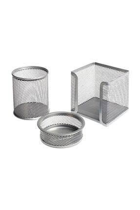 Bigpoint Silver Metal Perfore 3`lü Set