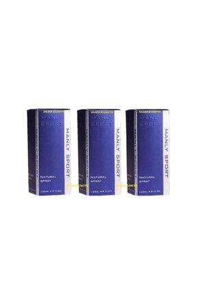 Morfose Manly Sport Edc 125ml Erkek Parfüm 869865538118000 x3