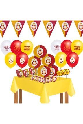 Galatasaray Galatasaray Doğum Günü Parti Seti 16 Kişilik