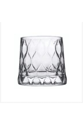 Paşabahçe 420194 Leafy Viski Bardağı 300cc - 4 Adet P420194