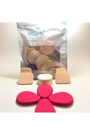 Ocean Fondoten Allık Kapatıcı Makyaj Süngeri