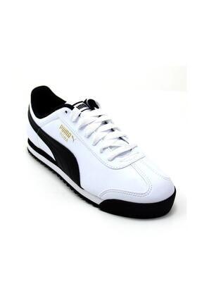 Puma Unisex Beyaz Roma Basic Spor Ayakkabı 35357204