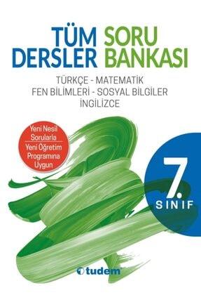 Tudem Yayınları Tudem 7.sınıf Tüm Dersler Soru Bankası